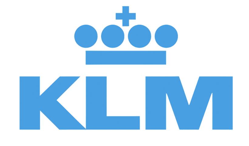 KLM bedrijfslogo