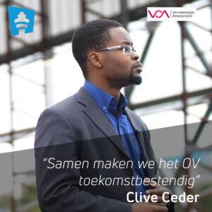 Clive Ceder van Vervoerregio Amsterdam