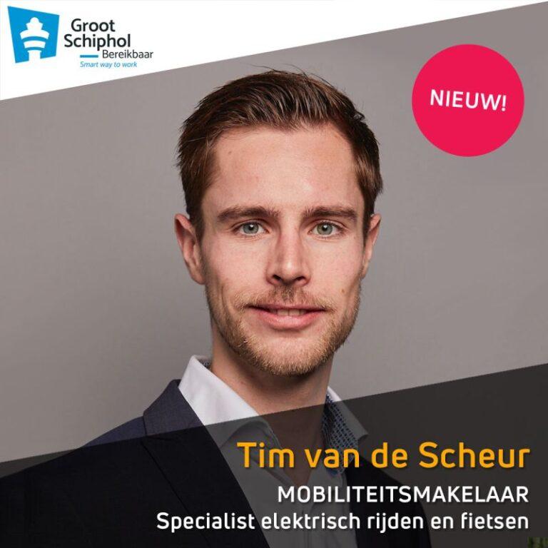 Mobiliteitsmakelaar Tim van de Scheur